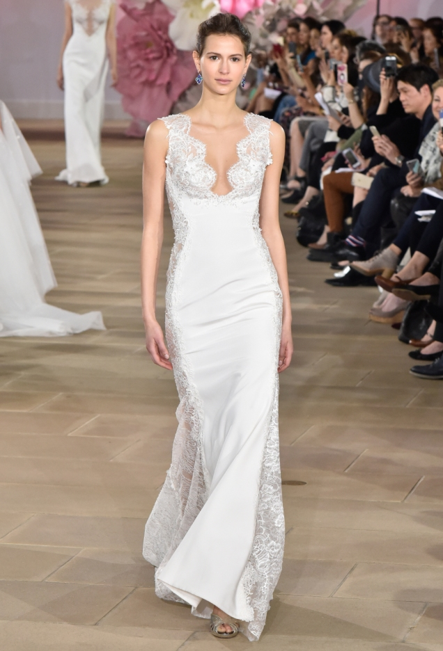 Ines Di Santo Bridal Spring 2017 Courtesy of WWD