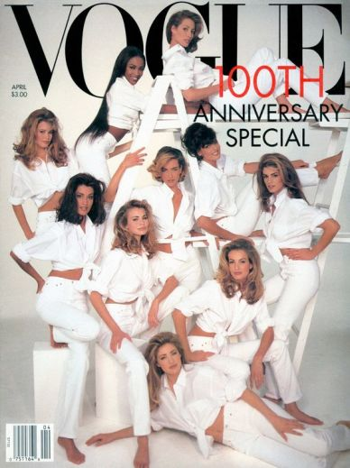 Yasmeen Ghuari Vogue US April 1992