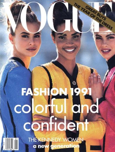 Niki Taylor Vogue US January 1991