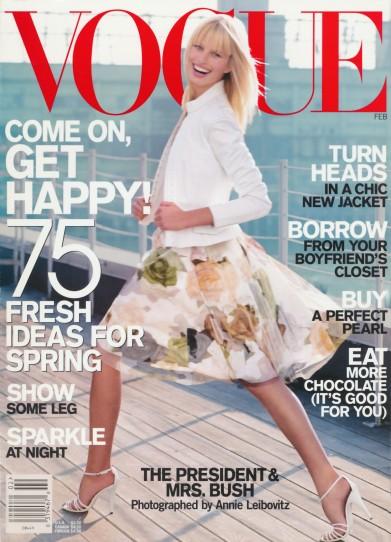 Karolína Kurková Vogue US February 2001