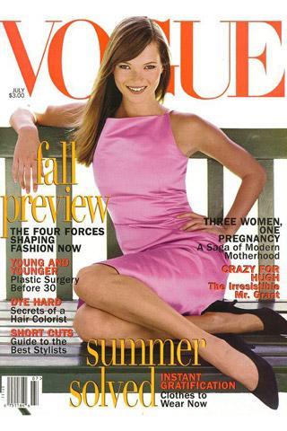 Kate Moss Vogue US June 1995