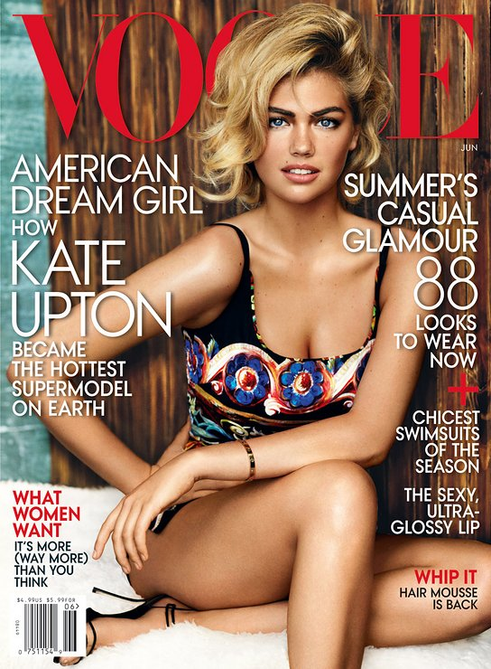 Kate Upton Vogue US June 2013