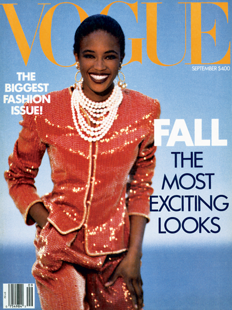 Naomi Campbell Vogue US September 1989