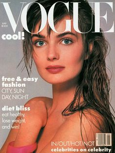 Paulina Porizkova Vogue US May 1986