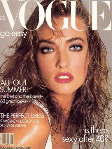 Tatjana Patitz Vogue US May 1987