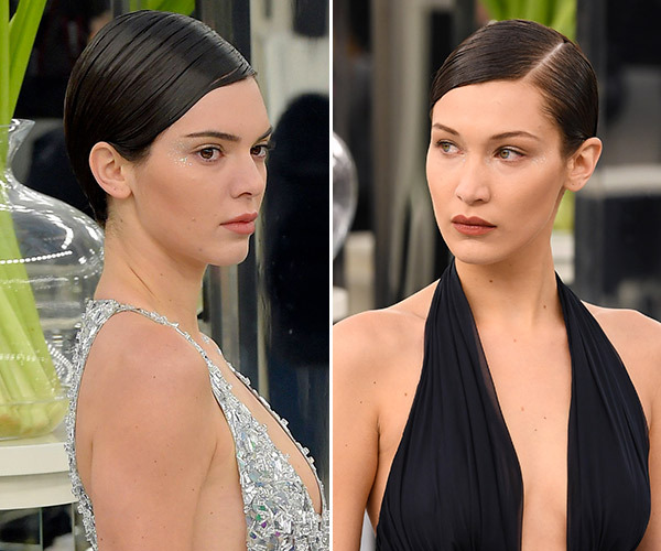 kendall-jenner-bella-hadid-sleek-wrap-buns-at-chanel-show-in-paris-ftr (2)